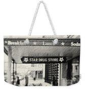 Star Drug Store Marquee Weekender Tote Bag