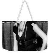 Star Gate Seduction Bw Palm Springs Weekender Tote Bag