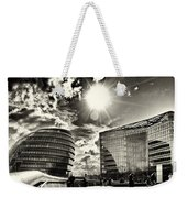 Star Light At City Hall Weekender Tote Bag