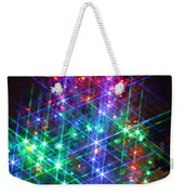 Star Like Christmas Lights Weekender Tote Bag