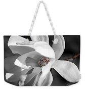 Star Magnolia Flower Weekender Tote Bag