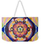 Star Mandala Weekender Tote Bag