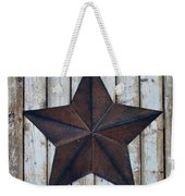 Star On Barn Wall Weekender Tote Bag