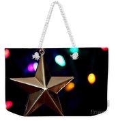 Star Ornament Weekender Tote Bag