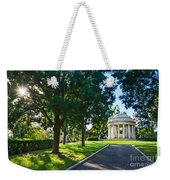 Star Over The Mausoleum - Henry And Arabella Huntington Overlooks The Gardens. Weekender Tote Bag