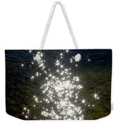 Star Reflection In The Water Weekender Tote Bag