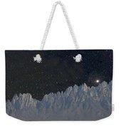 Star Shine Organ Mountains Weekender Tote Bag