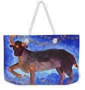 Star Sign Taurus Weekender Tote Bag