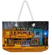Star Trails Over The Rialto Weekender Tote Bag