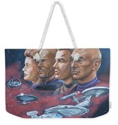 Star Trek Tribute Captains Weekender Tote Bag