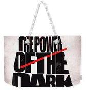 Star Wars Inspired Darth Vader Artwork Weekender Tote Bag