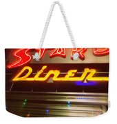 Stardust Diner - New York City Weekender Tote Bag