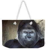 Stare-down - Gorilla Style Weekender Tote Bag