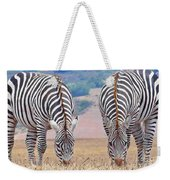 Stares And Stripes Weekender Tote Bag