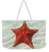 Starfish 3 Of Bottom Harbour Sound Weekender Tote Bag