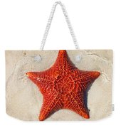 Starfish 4 Of Bottom Harbour Sound Weekender Tote Bag