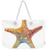 Starfish Weekender Tote Bag by Amy Kirkpatrick