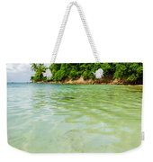 Starfish And Clear Water Weekender Tote Bag