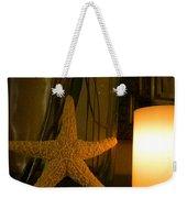 Starfish Candleglow Still Life Weekender Tote Bag