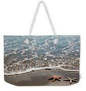 Starfish Catching The Waves Weekender Tote Bag