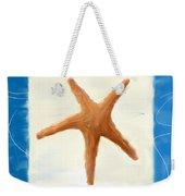 Starfish Galore Weekender Tote Bag by Lourry Legarde