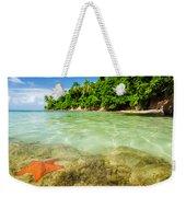 Starfish In Clear Water Weekender Tote Bag