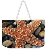 Starfish On Rocks Weekender Tote Bag