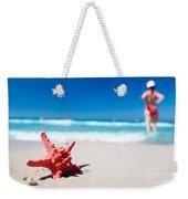 Starfish On Tropical Beach Weekender Tote Bag