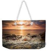 Starfish Sunset Weekender Tote Bag