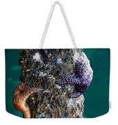 Starfish Under The Pier Weekender Tote Bag