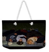 Stargazing With Chucky Weekender Tote Bag