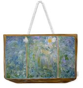 Staring Out The Window Weekender Tote Bag