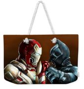 Stark Industries Vs Wayne Enterprises Weekender Tote Bag