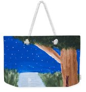 Starlight Fishing Weekender Tote Bag by Melissa Dawn