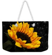 Starlight Sunflower Weekender Tote Bag