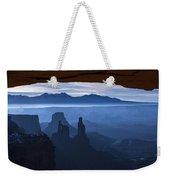 Starlit Mesa  Weekender Tote Bag by Dustin  LeFevre