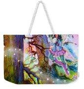 Starr Lynn Holly Berry Fairy Weekender Tote Bag