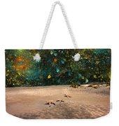 Starry Beach Night Weekender Tote Bag
