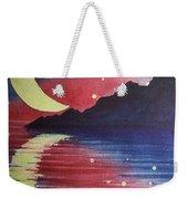 Starry Lake Weekender Tote Bag