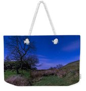 Starry Night Above Hadrians Wall Weekender Tote Bag