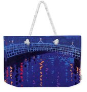 Starry Night In Dublin Weekender Tote Bag