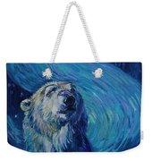 Starry Night Van Gogh Bear Weekender Tote Bag