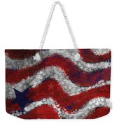 Starry Stripes Weekender Tote Bag