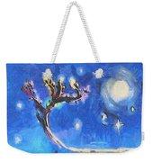 Starry Tree Weekender Tote Bag by Pixel  Chimp