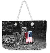Stars And Stripes With Selective Color Weekender Tote Bag