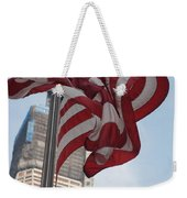 Stars And Stripes And 1 W T  C Weekender Tote Bag