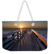 Stars On The Boardwalk Weekender Tote Bag