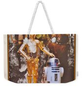 Stars Wars Autographed Movie Poster Weekender Tote Bag