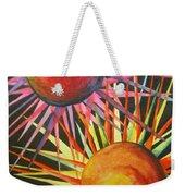 Stars With Colors Weekender Tote Bag