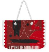 Starschips 02-poststamp - Battlestar Galactica Weekender Tote Bag